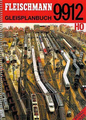 FLEISCHMANN 9912 Gleisplanbuch für Modellgleis (Profigleis) Spur H0 1:87 - NEU