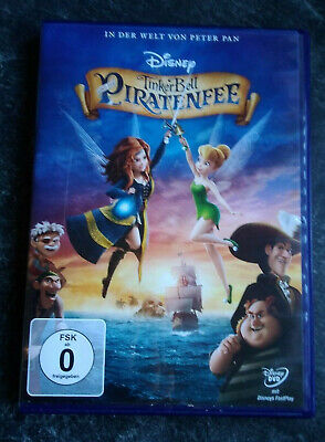 Kinder DVD TinkerBell und die Piratenfee - Tinkerbell Fee Pirate