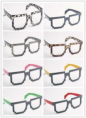 Nerd Party (8 Bit Pixel Retro Pixelated Glasses Geek Nerd Computer Cartoon Party No)