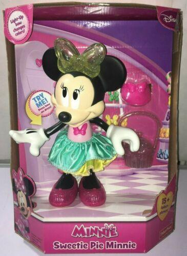 Fisher Price Disney Minnie Mouse- Sweetie Pie Minnie light -up Talking Doll new