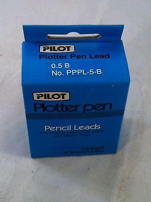 Pilot Plotter Pen Lead 0.5 B Box Of 12 Pppl-5-b