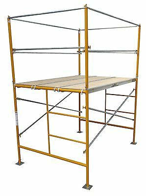5 Stationary Tower W Basic Safety Rails - 5 Scaffold Tower