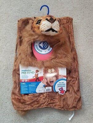 Lion Costume Imaginarium Pretend Play Dress Up Realistic Sounds Ages 3-5 - - Lion Dress Up Costume