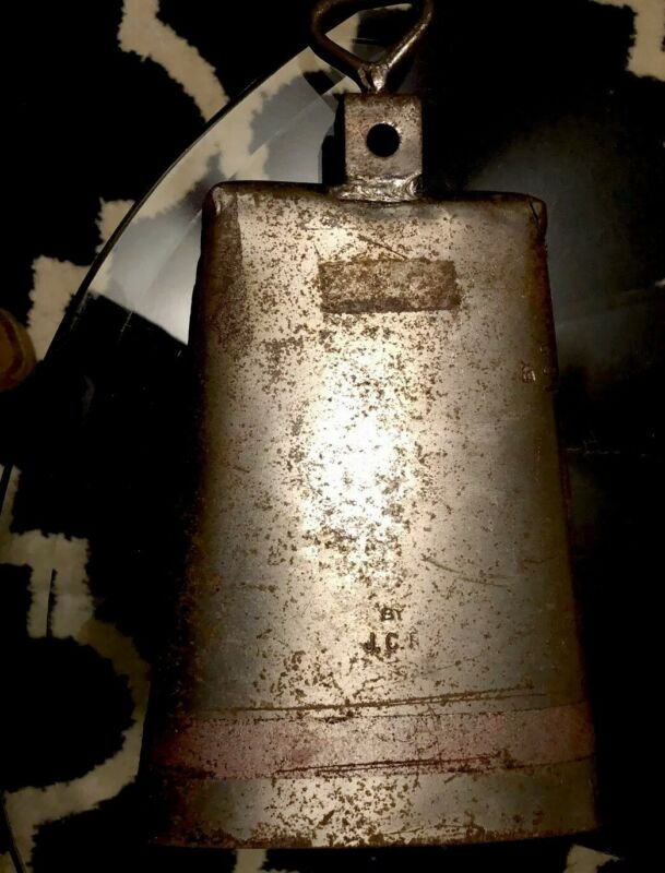 JCR Cowbell (campana) Halfmoon - by Cali Rivera. Real Salsero Bell. Used.