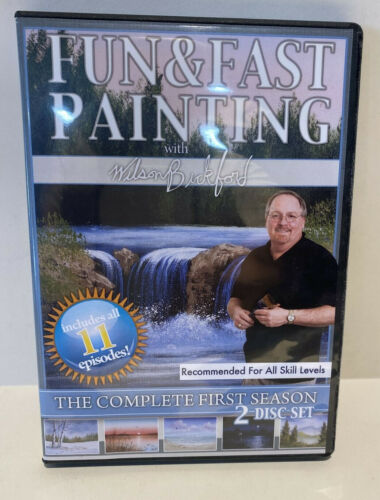 """Wilson Bickford -  """"Fun and Fast Painting"""" - Complete 1st Season (DVD, 2007)"""
