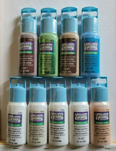 Plaid Gallery Glass Window Color Stained Glass - 2fl oz - Choose Your Color