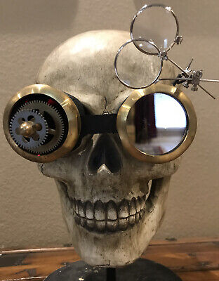 Alchemy England (like Katherine's Collection) Steampunk Goggles—Retired