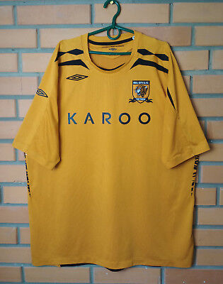 Hull City Home football shirt 2008 - 2009 size XXL jersey soccer Umbro image