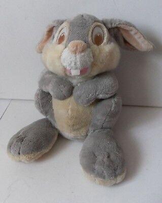 The Walt Disney Company Store Bambi Movie Thumper Grey Rabbit Plush Soft Toy