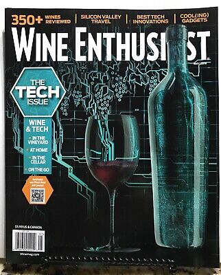 Wine Enthusiast Tech Issue Best Innovations Gadgets May 2019 FREE SHIPPING