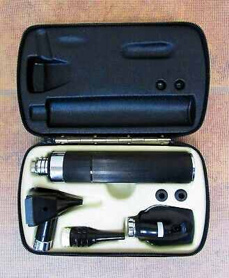Welch Allyn Diagnostic Set Otoscope Opthalmoscope 3.5v 97150 71050 11600 25000