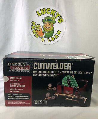 Lincoln Electric Cutwelder Kh995 Cut Welder Kit Oxy-acetylene Outfit