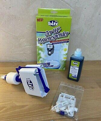 Tolex WC-Hygienespender für Unterputzspülkästen inkl. 250ml Reinigungskonzentrat