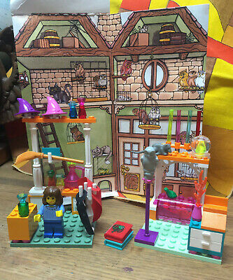 Vintage 2001 Lego Set 4723 Harry Potter Diagon Alley Shops COMPLETE Clean NICE!