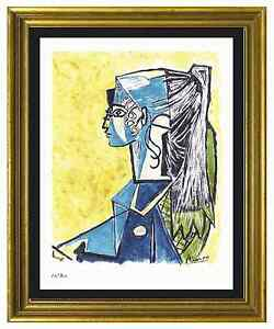 Pablo Picasso Signed & Hand-Numbered Ltd Ed