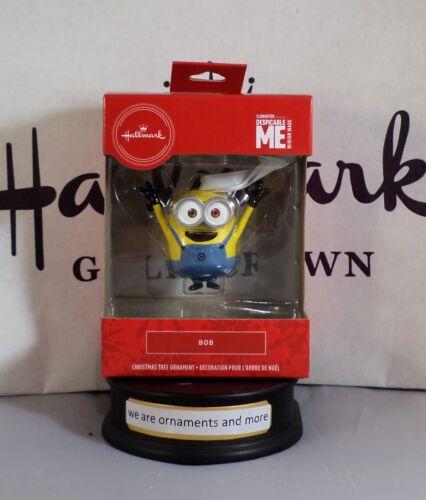 Hallmark Ornament - Red Box - Despicable Me - Stuart & Bob - Minion
