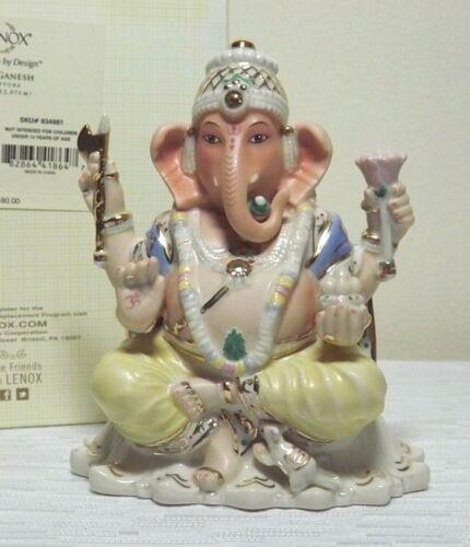 LENOX LORD GANESH HINDU GOOD LUCK GOD ELEPHANT HEAD NIB