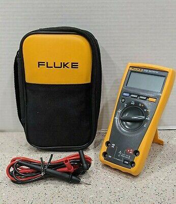 Genuine Fluke 77 Iv Digital Multimeter 77-4 W New Fluke Leads And Case 77 Iv