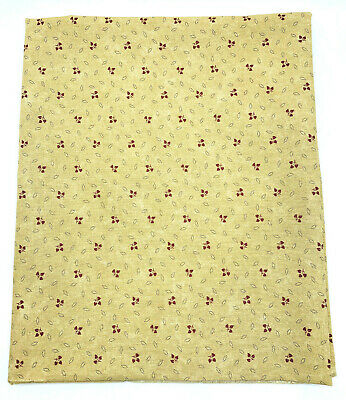 FRESH CUT FLOWERS FLORAL CLIPPINGS TAN BY KANSAS TROUBLES FOR MODA - 1 Yard