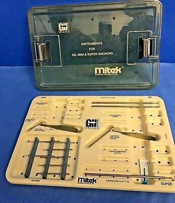Mitek Gii Mini Super Anchor Set Arthroscopy Arthroscopic Orthopedic