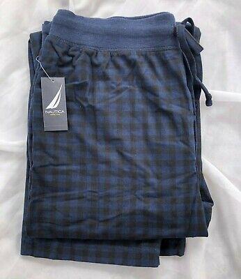 NEW Men's Nautica Sleepwear Polyester Soft Fleece Lounge Pajama Pants Size L/XL