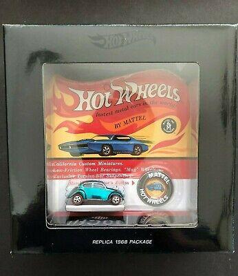 Hot Wheels Original 16 Redline Spectraflame Blue Custom Volkswagen: 1968 Replica