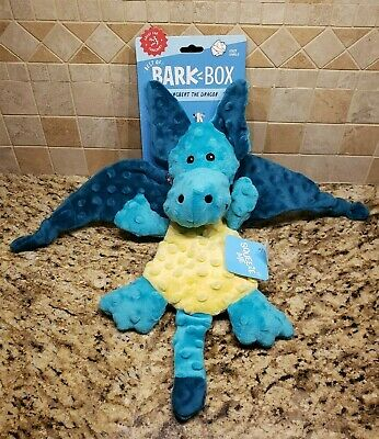 Bark Box Dingbert The Dragon Dog Toy