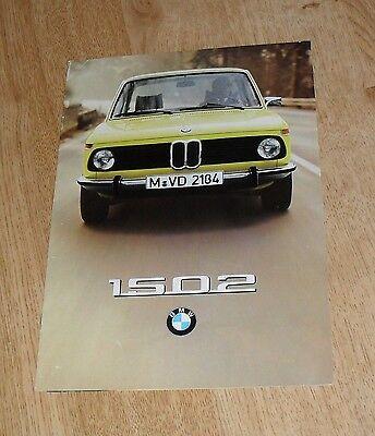 BMW 1502 Brochure 1975