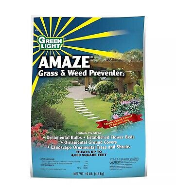 Green Light, Amaze Grass and Weed Preventer  Pre-Emergence Herbicide 10 Lb.