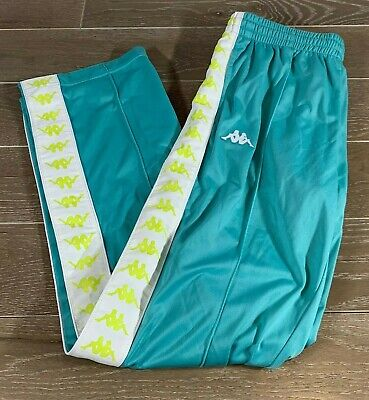 Brand New w. Tags KAPPA 222 BANDA Pants Size:Large Color:Green/Blue/White