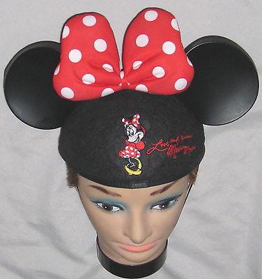 Disney Black Minnie Mouse Mouseketeer Ears - Kaitlyn