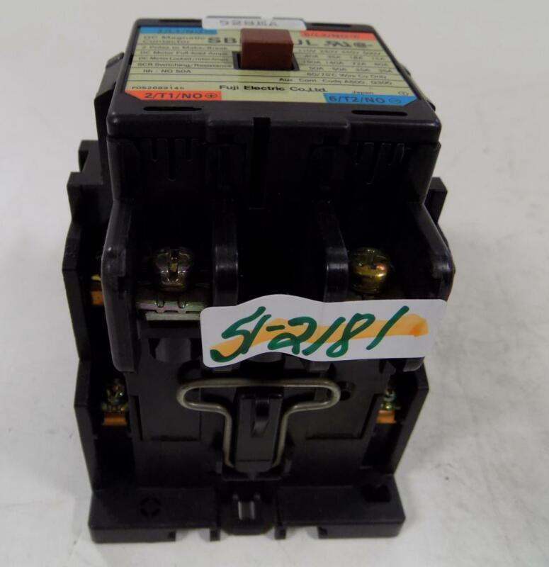 FUJI ELECTRIC DC MAGNETIC CONTACTOR SB-2N/UL
