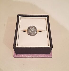 1 carat 14K gold diamond ring Darch Wanneroo Area Preview