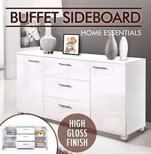 Buffet Sideboard High Gloss Storage Cabinet Dresser Table New Brisbane City Brisbane North West Preview