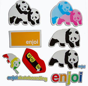Enjoi-Adhesivo-De-Skateboard-Varios-Logo-Skate-Panda-Frontal