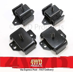Engine-2x-bolt-Gearbox-Mount-SET-Patrol-GQ-Maverick-88-91