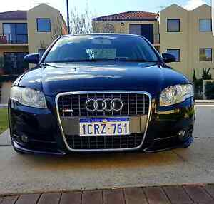 2007 Audi A4 B7 S-Line 2.0 Auto Luxury Leather Black South Perth South Perth Area Preview