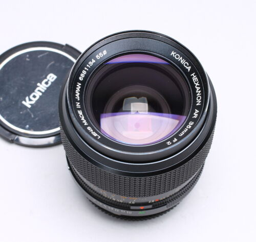 KONICA HEXANON AR 35MM F/2 FAST PRIME WIDE ANGLE LENS No. 6881134