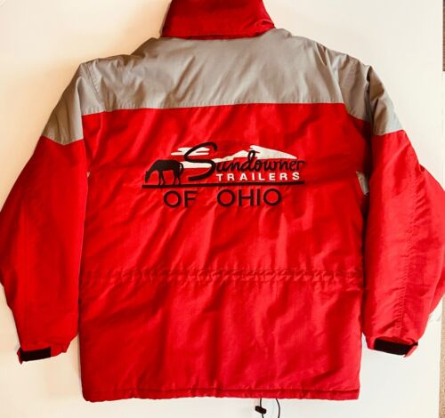 Sundowner Trailers Of Ohio Game Large Embroidered Parka Jacket w/Pull Out Hood