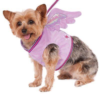 Pony Hund Kostüm (My Little Pony Twilight Sparkle Haustier Hund Katze Kostüm Geflügelter)
