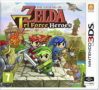 The Legend Of Zelda Tri Force Heroes Nintendo 3DS Brand New Video Game FREE P&P