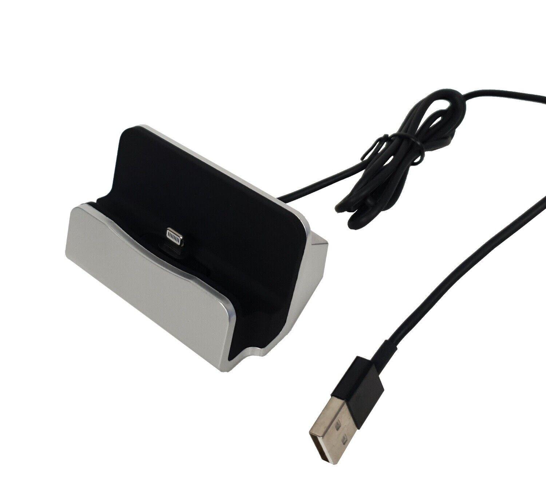 Dockingstation mit kabel für handy micro usb universal Lade Gerät Datenaustausch