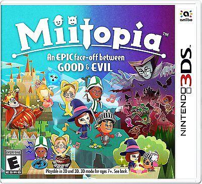 Miitopia Nintendo 3Ds Brand New Ships Worldwide