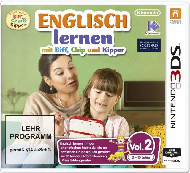 Englisch lernen mit Biff, Chip und Kipper Vol. 2 - Nintendo 3DS - Neu / OVP