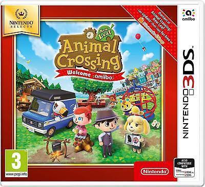 Nintendo 3DS Spiel Animal Crossing New Leaf Welcome amiibo NEUWARE ()