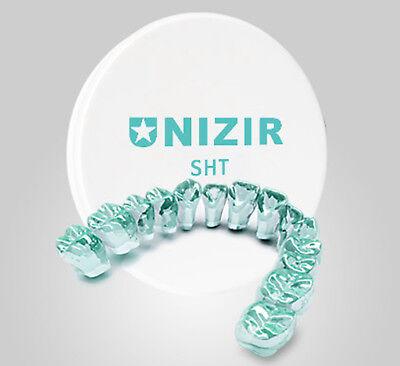 Dental Zirconia Blocksdiscs High Translucency 98mm X 10mm Strength 1476.8mpa Ce