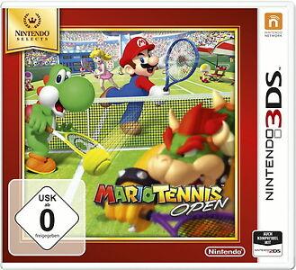 Mario Tennis Open (Nintendo 3DS, 2015, Keep Case)