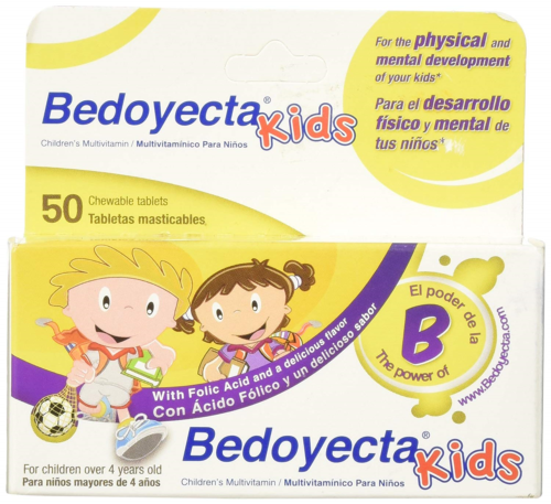 Bedoyecta ChildrenS Chewables, 50 Count *New*