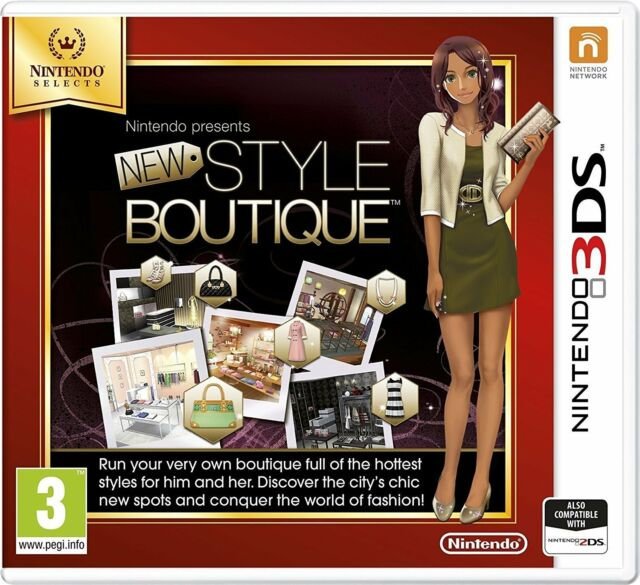 New Style Boutique For UK / EU 3DS (New & Sealed)