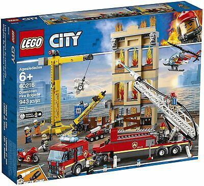 Lego City 60216 Downtown Fire Brigade NEW